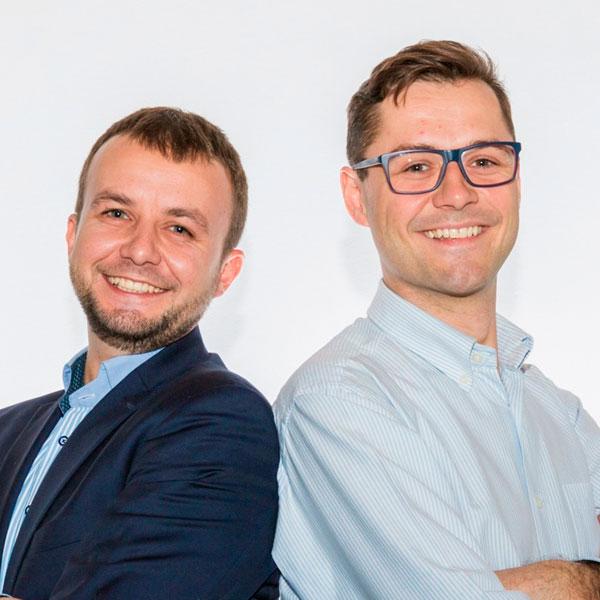 Hubert Stuczyński and Mateusz Wajda